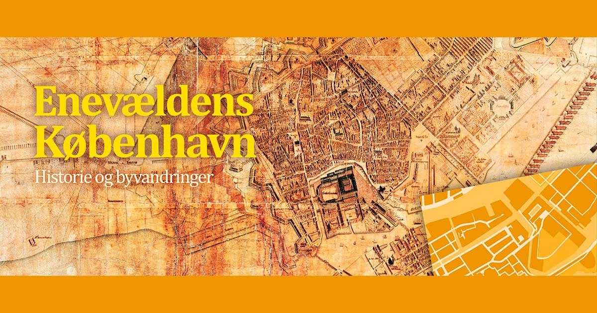 Byvandringer og undervisningsmateriale er skrevet med udgangspunkt i Christian Geddes kort over København fra 1761, der er bevaret i Københavns Stadsarkiv.