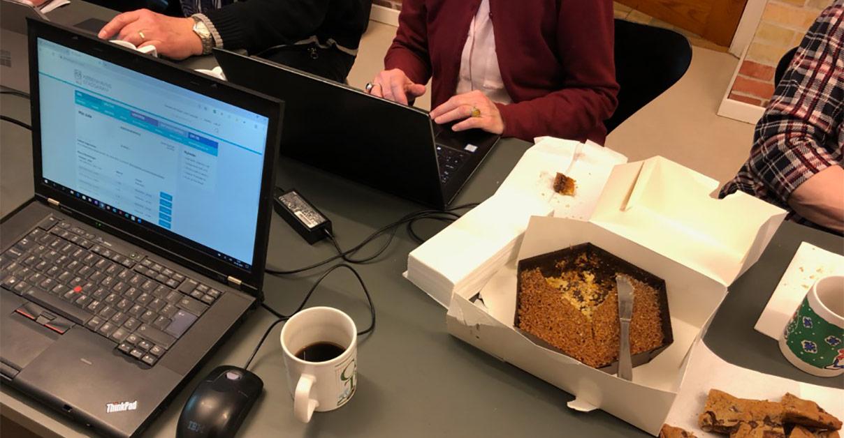 Der er sjove opdagelse og kaffe og kage, når Tastecaféen holder åbent på Københavns Stadsarkiv. 2020. Foto: Københavns Stadsarkiv