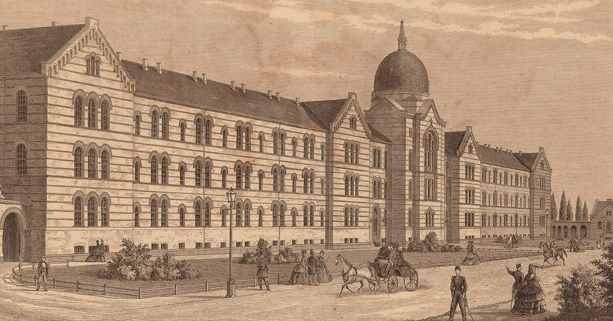 Kommunehospitalet 1870. Kort- og tegningssamlingen, Københavns Stadsarkiv