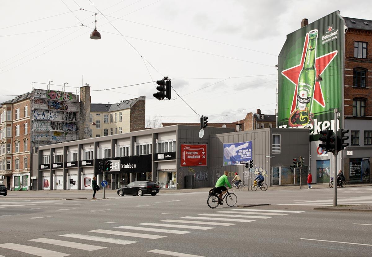 Åboulevard og Griffenfeldtsgade. Foto: 2014: Mads Neuhard, Københavns Stadsarkiv