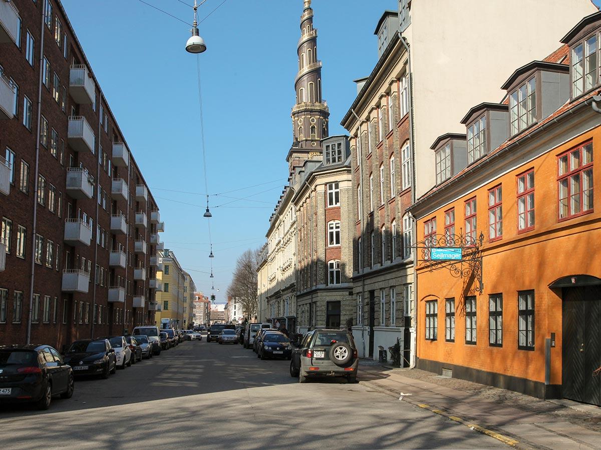 Sankt Annæ Gade. Foto 2016: Mads Neuhard, Københavns Stadsarkiv