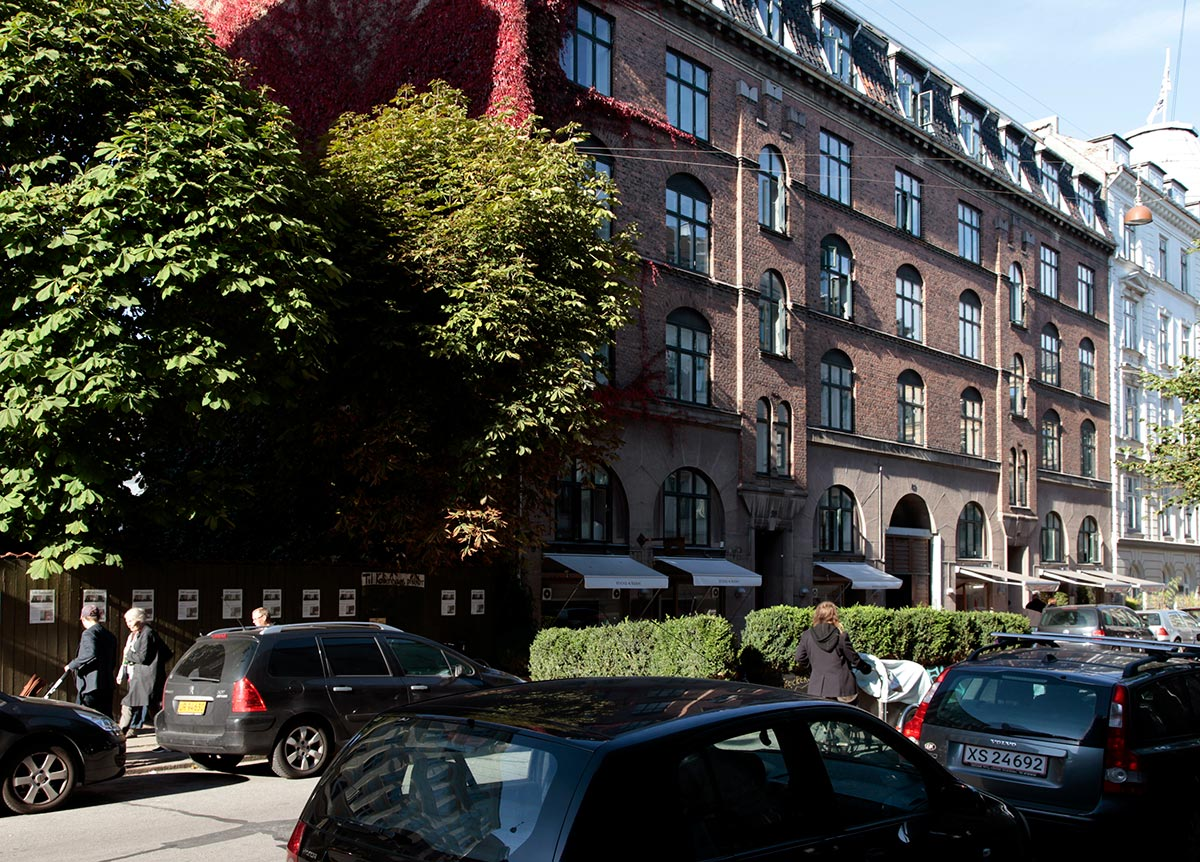 Nansensgade. Foto 2015: Mads Neuhard, Københavns Stadsarkiv