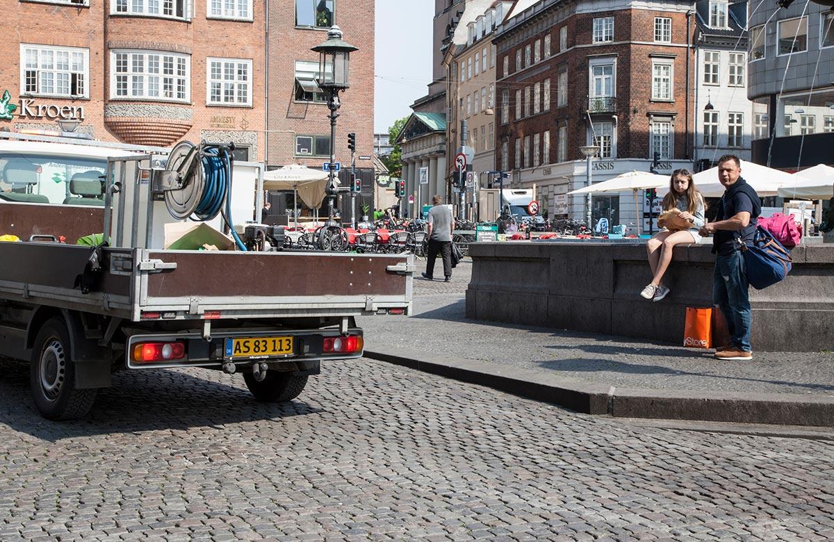 Caritasspringvandet. Foto 2016: Mads Neuhard, Københavns Stadsarkiv