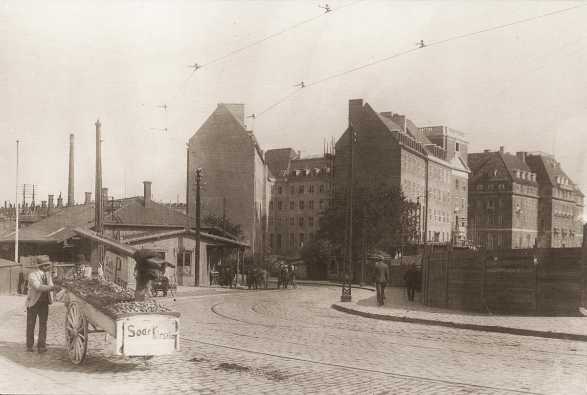 Teknologisk Institut. Foto 1917: Ukendt fotograf, Københavns Museum