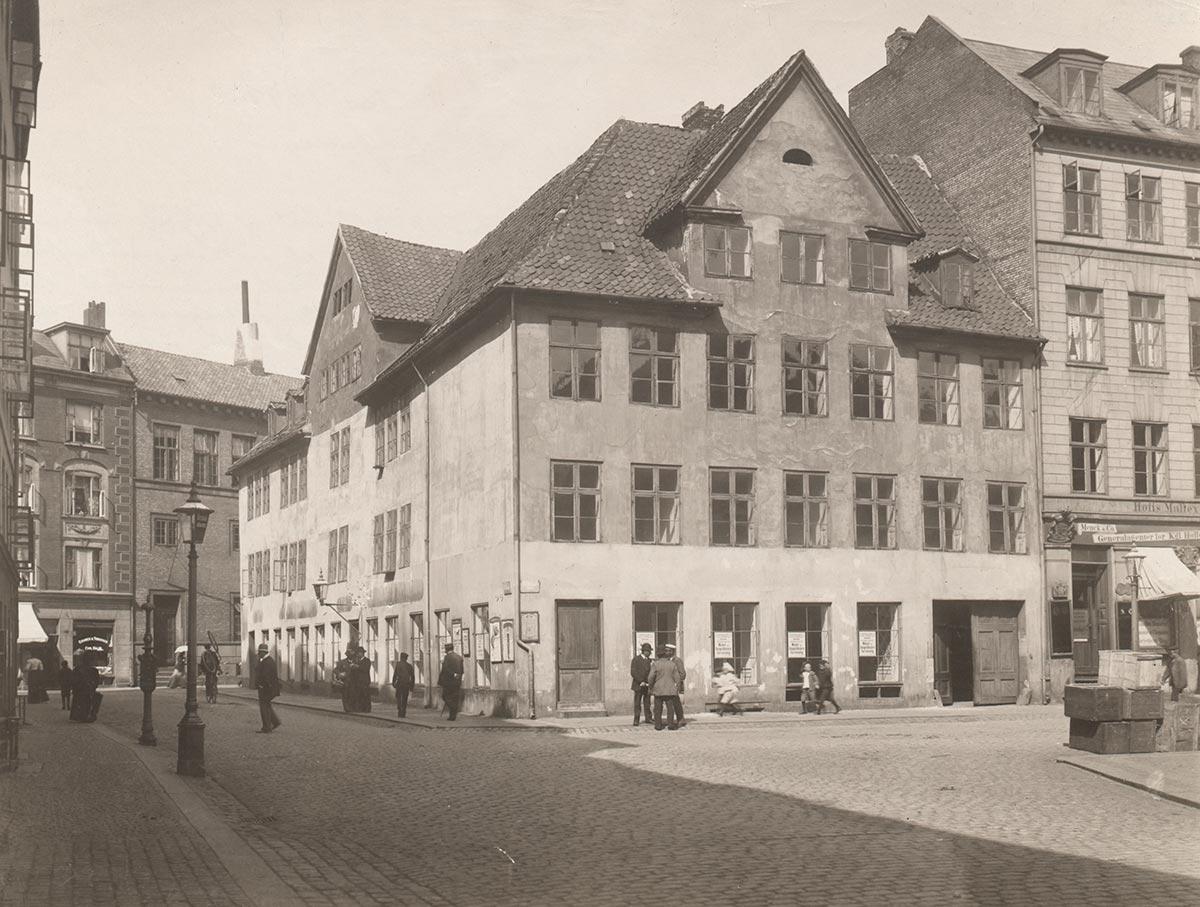 Gråbrødretorv. Foto 1899: Ukendt fotograf, Københavns Museum