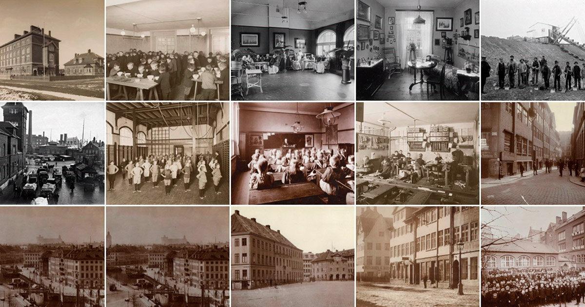 På kbhbilleder.dk kan du søge i bla. de fotografiske samlinger fra Københavns Stadsarkiv og Københavns Museum.
