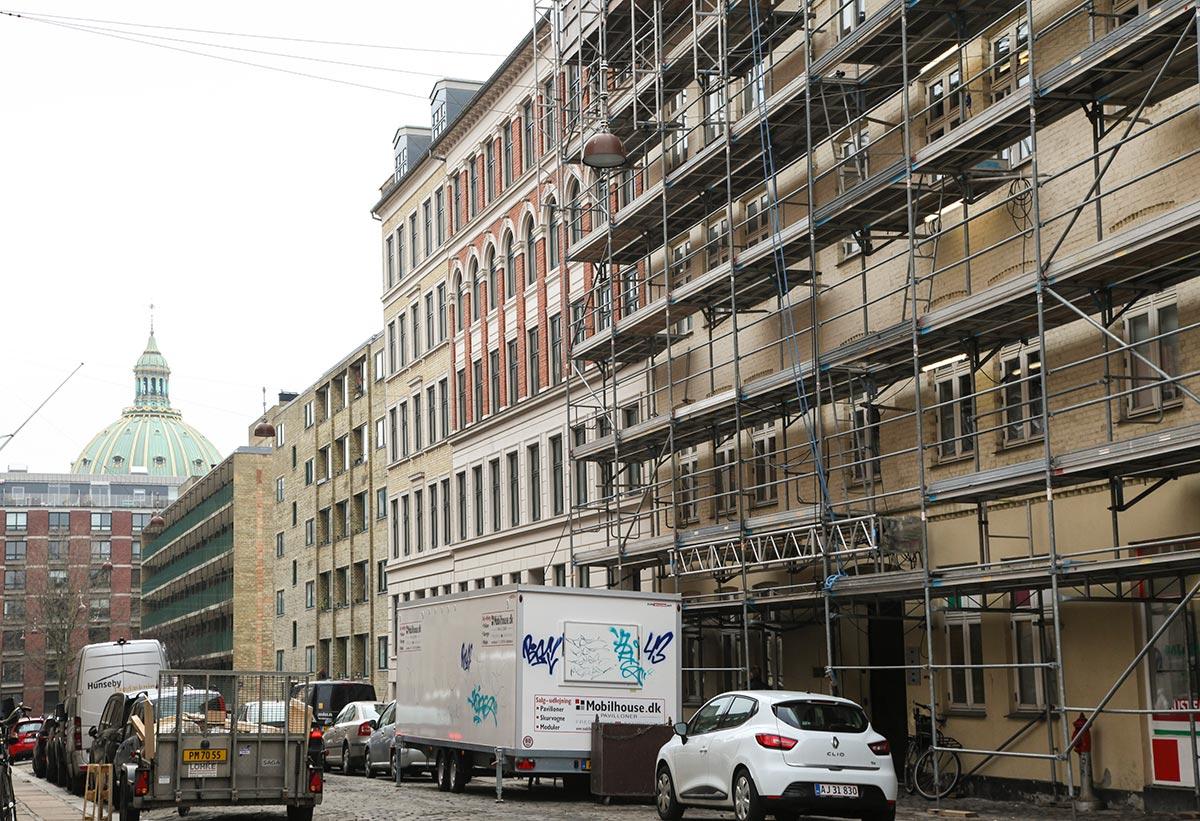 Klerkegade. Foto 2016: Mads Neuhard, Københavns Stadsarkiv