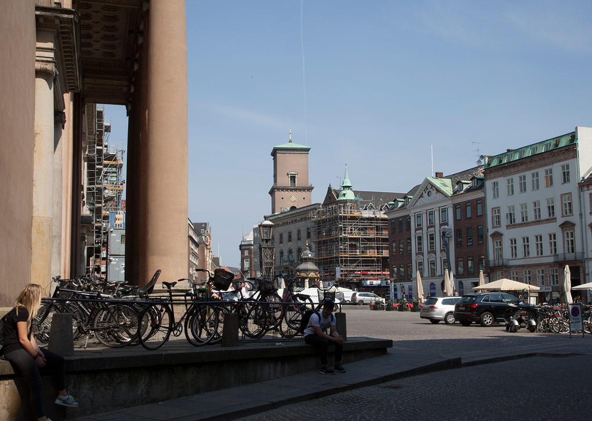 Nytorv med Domhuset. Foto 2016: Mads Neuhard, Københavns Stadsarkiv