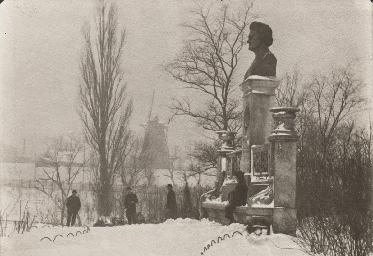 Ørstedsparken. Foto 1880: Ukendt fotograf, Københavns Museum