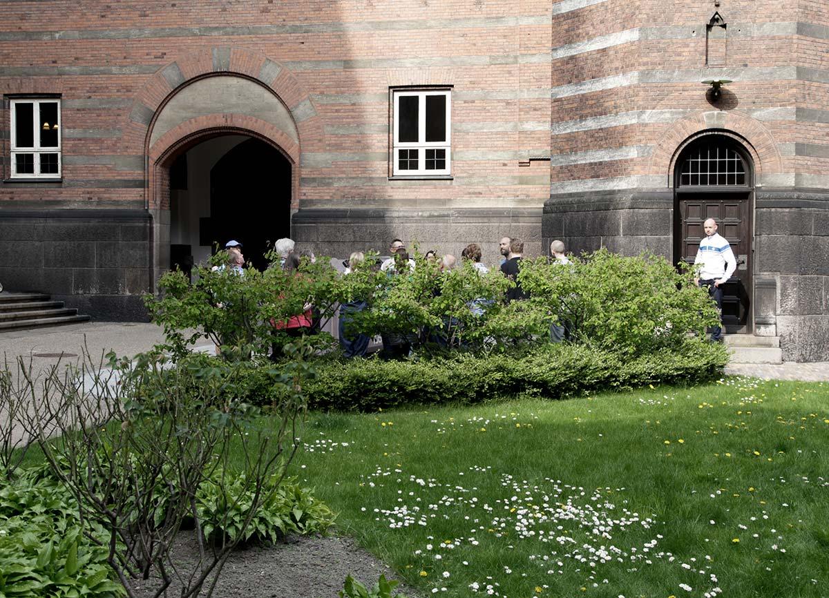 Rådhusgården. Foto 2014: Mads Neuhard, Københavns Stadsarkiv