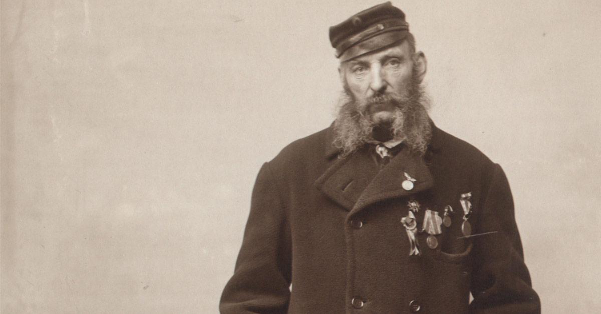 Portrættet af Scheibelein er taget ca. 1895. Foto: Fotograf ukendt, Københavns Museum.