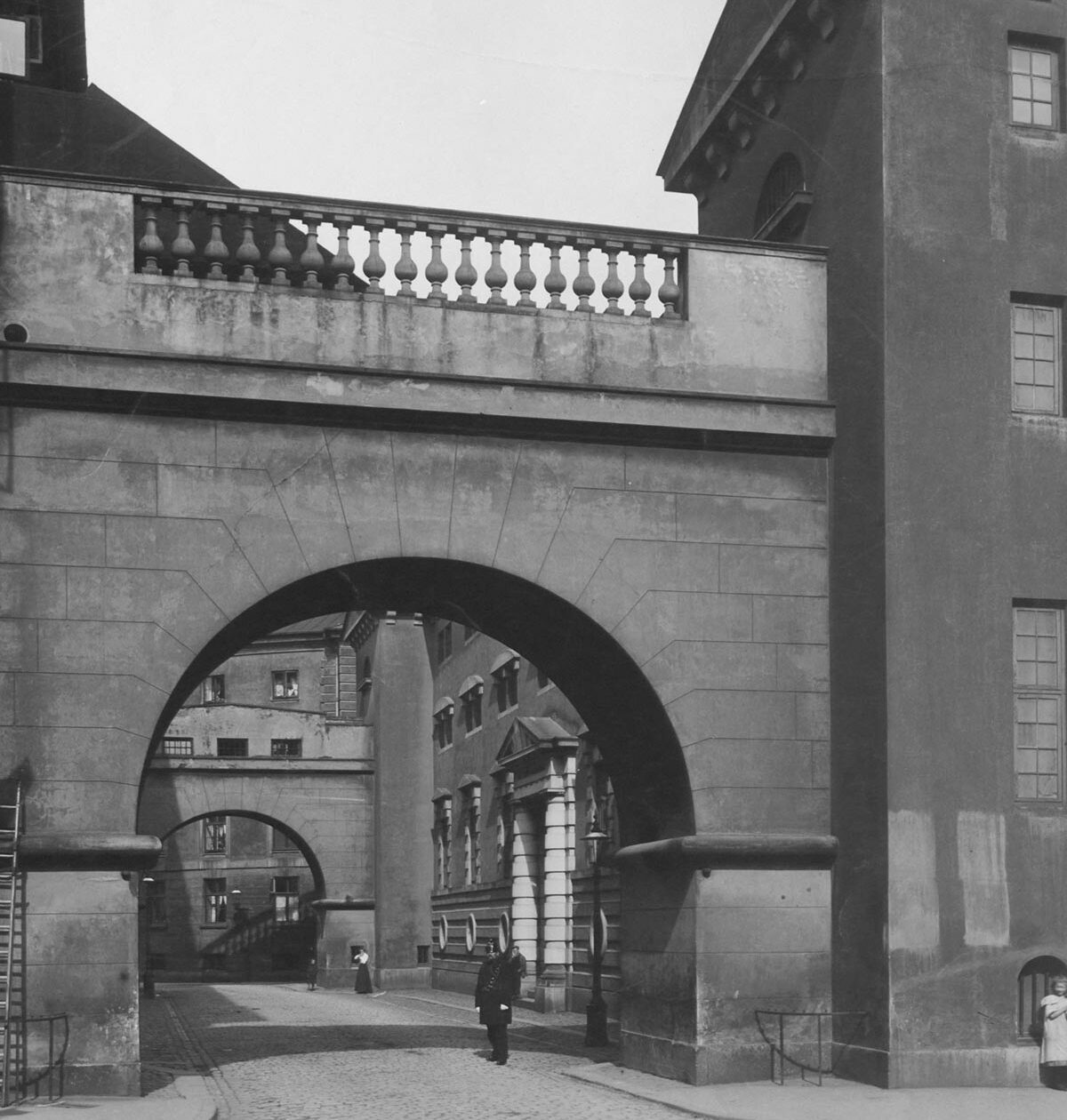Sukkenes Bro. Foto 1908: Ukendt fotograf, Københavns Museum.