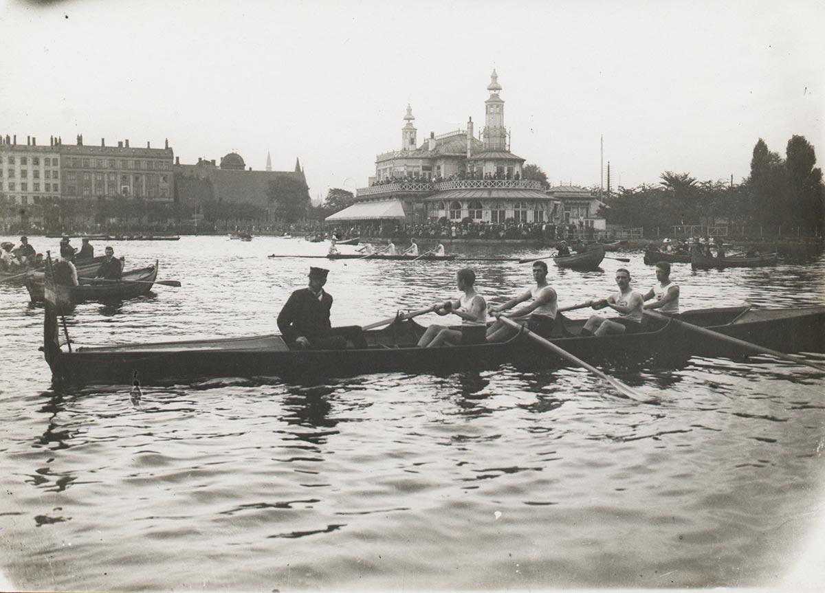 Søpavillonen. Foto 1910: Ukendt fotograf, Københavns Museum