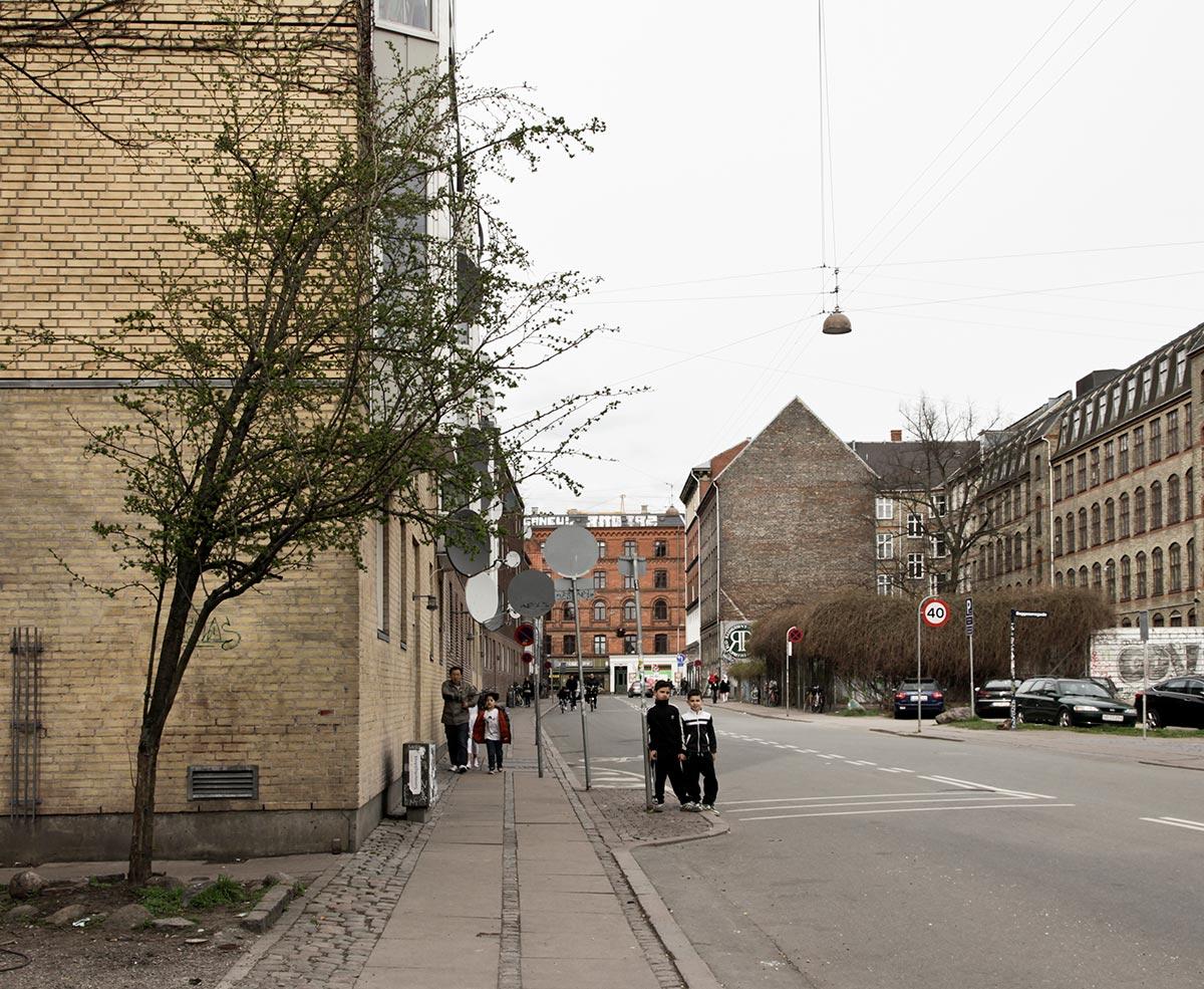 Stengade ud mod Nørrebrogade. Foto 2014: Mads Neuhard, Københavns Stadsarkiv