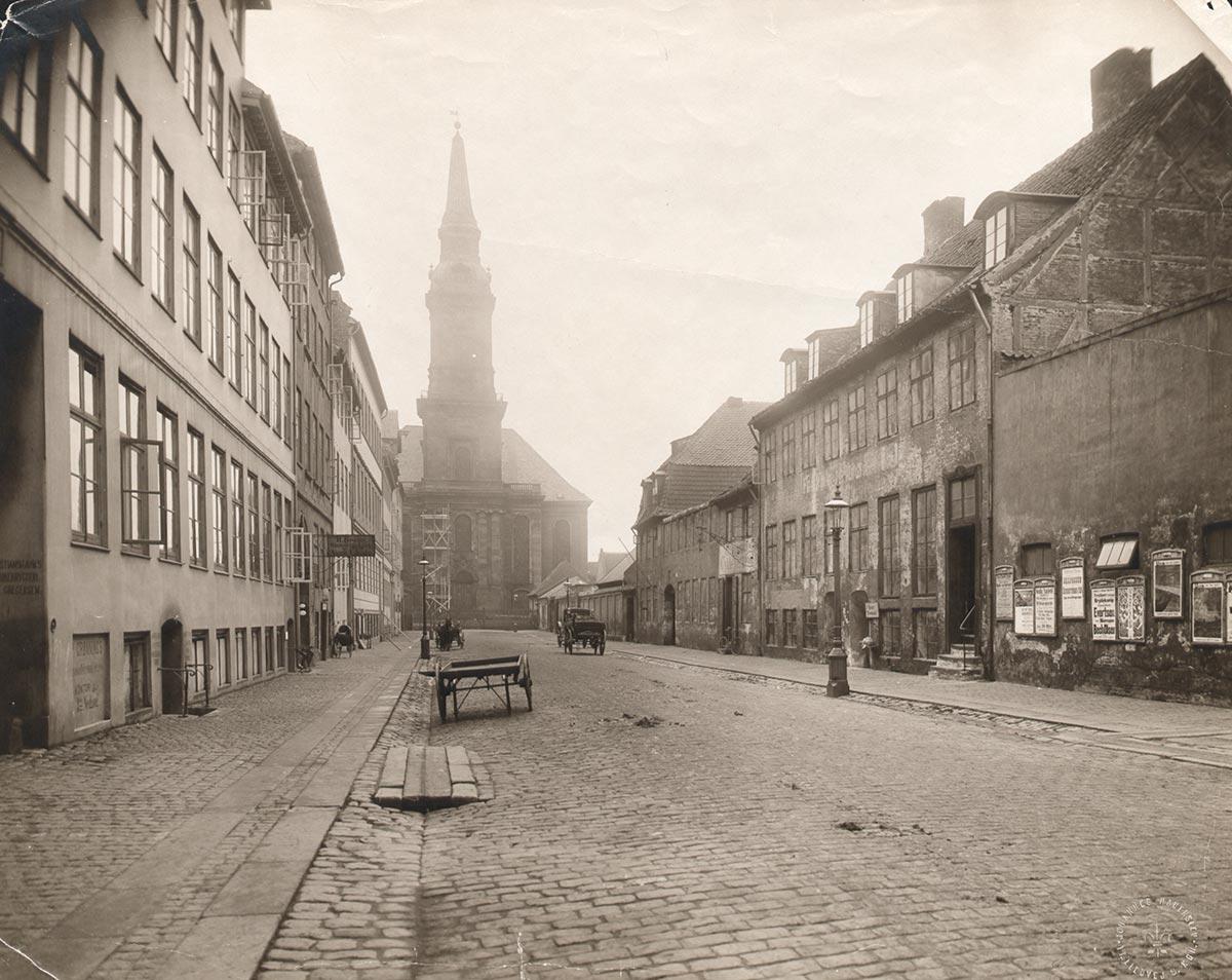 Christians Kirke. Foto 1898: Ukendt fotograf, Københavns Museum