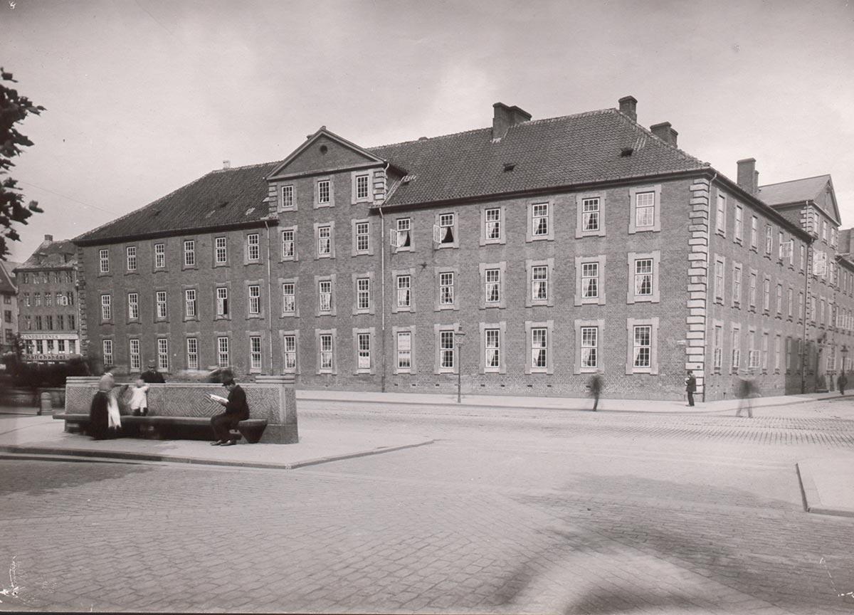 Vartov. Foto 1909: Ukendt fotograf, Københavns Museum