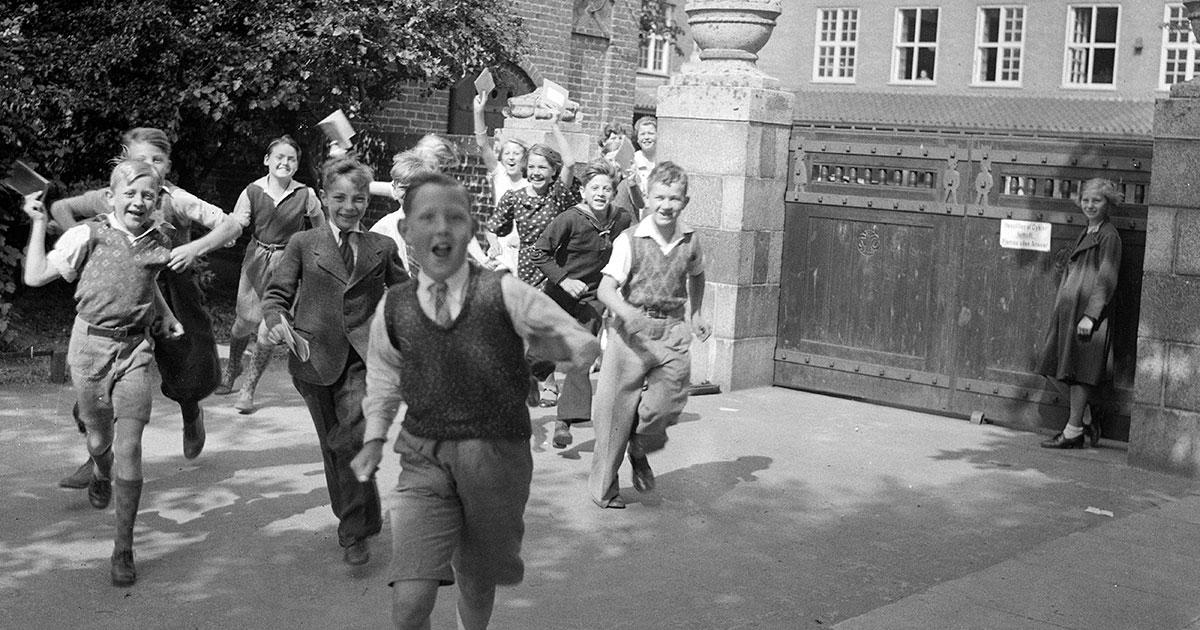 Børn på Nyboder skole 1935