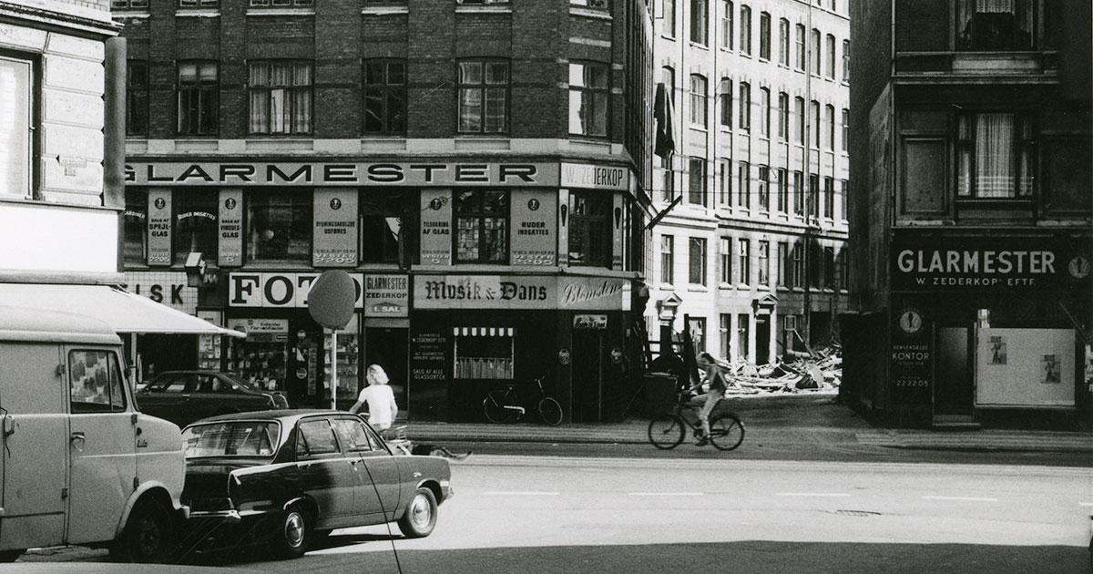 Gadebillede fra Istedgade, 1974